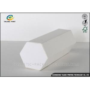 Customized Printing Hexagon Shape Cardboard Gift Boxes Whit Simple Design