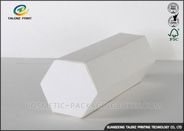 Quality Customized Printing Hexagon Shape Cardboard Gift Boxes Whit Simple Design for sale