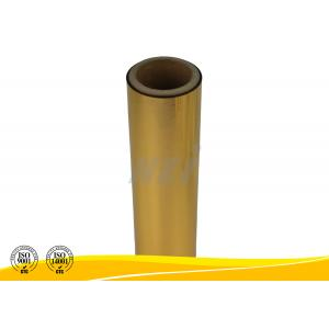 Reflective Gold Metalized Thermal Lamination Film Rolls Environmentally Friendly