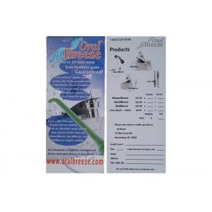 Die Cut Processing Custom Card Printing Paper / Note Card Printing OEM Available