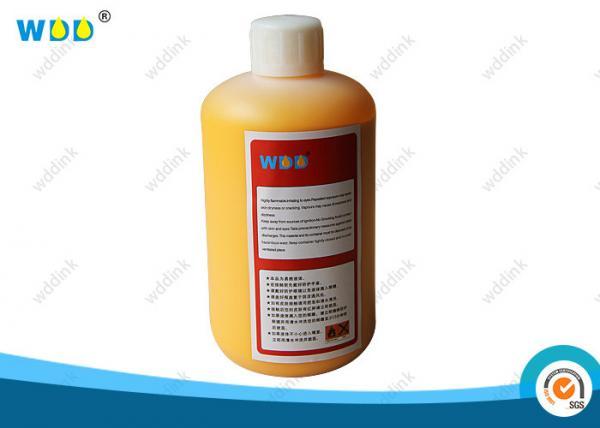 Quality 1000ml Hitachi CIJ MEK Ink Continuous Inkjet Wash Solution Food Grade for sale