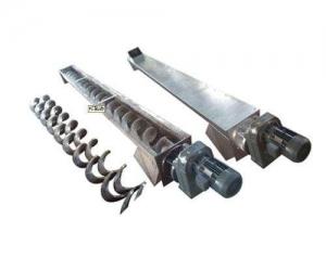 Buy cheap Screw conveyor Shaftless screw conveyor from wholesalers